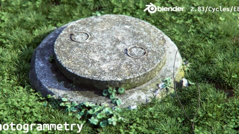Concrete Cover Photogrammetry