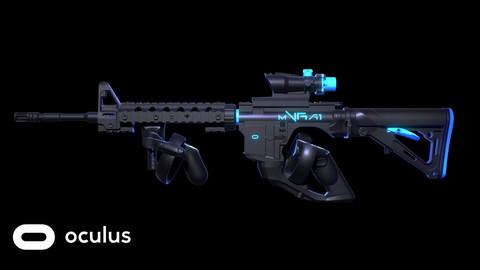 mVRa1 Gun Stock Mo.2 for oculus rift 3D Print Data
