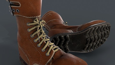 Army boots legion 3d model