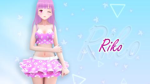 Riko V2 Original - VRChat/Game Ready