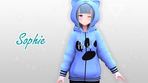 Sophie V2 Original - VRChat/Game Ready