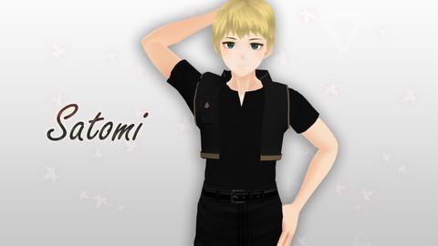 Satomi Original - VRChat/Game Ready