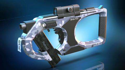 Modern SMG Gun