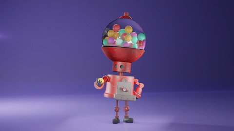The Curious One - Robot Model