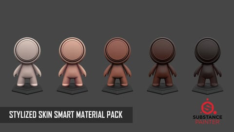 STYLIZED SKIN SMART MATERIAL PACK