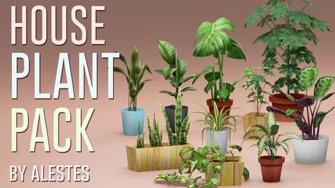 House Plant Model Pack