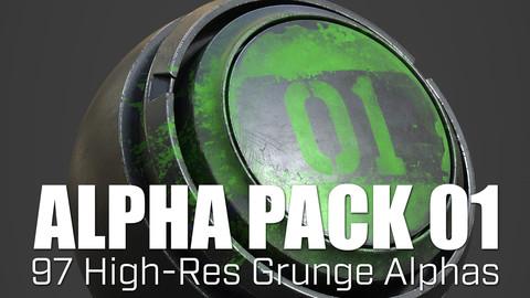 Alpha Pack 01 - Grunge