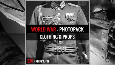 WORLD WAR : CLOTHING & PROPS