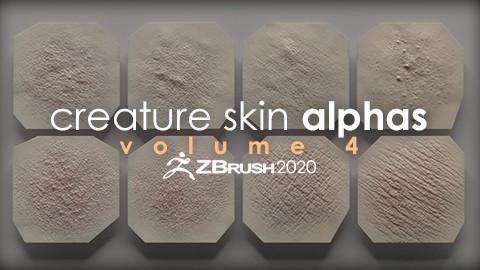 Creature Skin Alphas vol. 4 + Render Scene