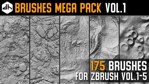 Brushes Mega Pack Vol.1