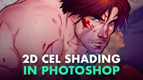 Learn 2D Cel Shading in Photoshop