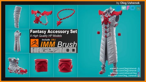 IMM Brush Fantasy  Accessory Set