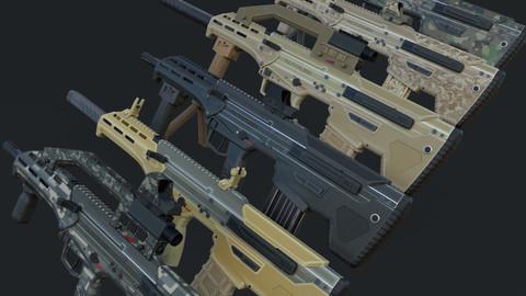 Modular Bullpup Rifle- Standard Variant