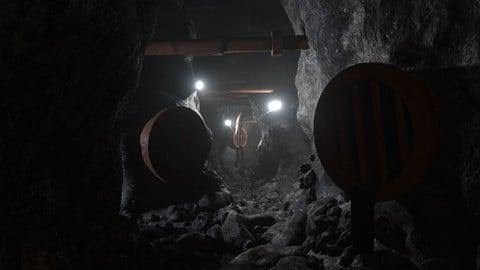 Abandoned Sewer Cave - Blender