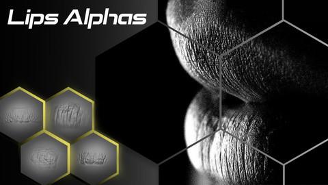 Realistic Lips Alphas