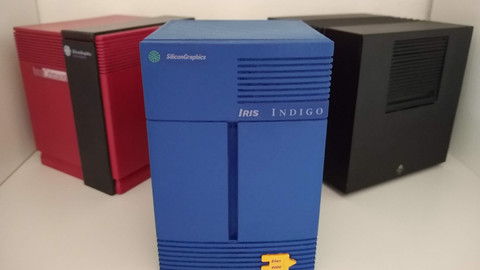 Silicon Graphics Indigo Mini for 3D printing