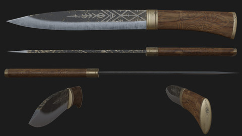 Celtic knife