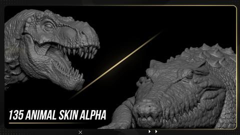 135 Animal Skin Alpha