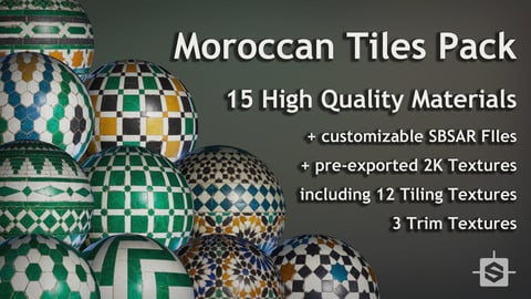 Moroccan Tiles Pack