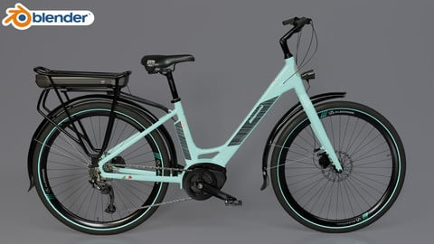 BIANCHI LONG ISLAND E-BIKE 3D MODEL