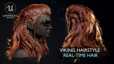 Viking Real-Time Hairstyle