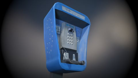 Stylised Payphone