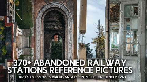 370+ Abandoned Railway Stations Reference Pictures