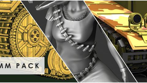 IMM PACK -TANK TRACKS & BULLETS