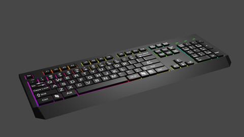 Lowpoli Keyboard