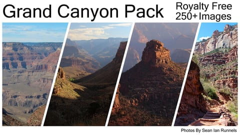 Grand Canyon Reference Pack Vol.1