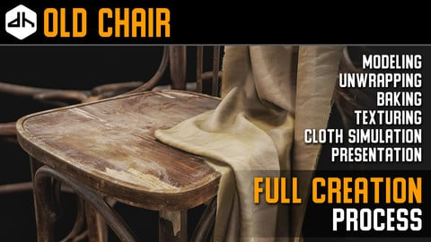 Old Chair Full Creation Process