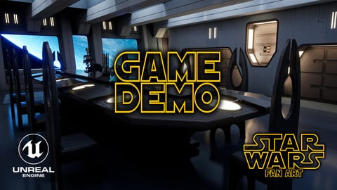 Game Demo - Star Wars: Droid Control Ship