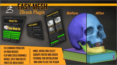 Easy Mesh ZBrush Plugin