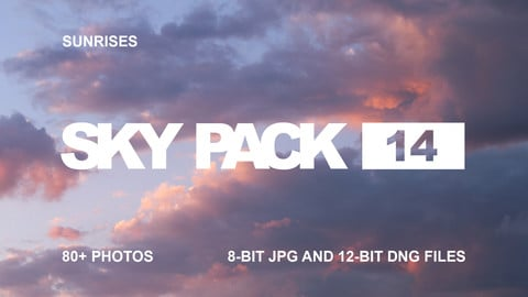 Sky Pack 14 / Sunrises / Clouds reference pack
