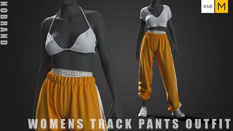 Womens - Track Pants Outfit