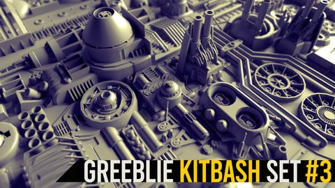 Greeblie Kitbash Set #3