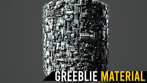 Greeblie Randomizer Substance Painter Material