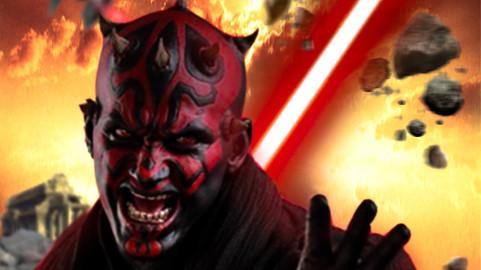 Star Wars Darth Maul's Hatred