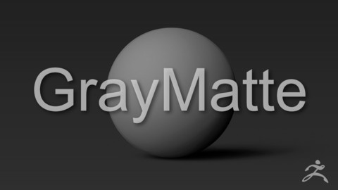GrayMatte ZBrush Standard Material