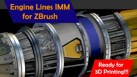 Engine lines IMM