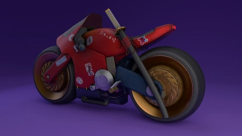 Cyberbike - 3D Print