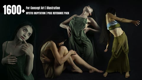 1600+ MYSTIC inspiration | POSE REFERENCE PACK