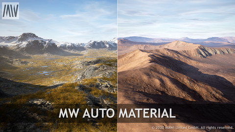 UE4 - MW AUTO MATERIAL