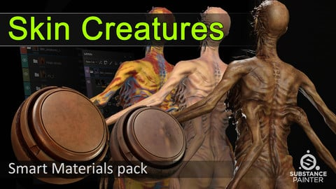 Skin Creatures smart materials