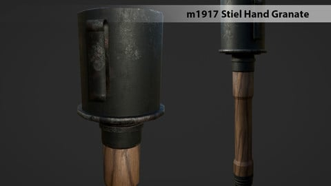 m1917 Stiel Hand Granate