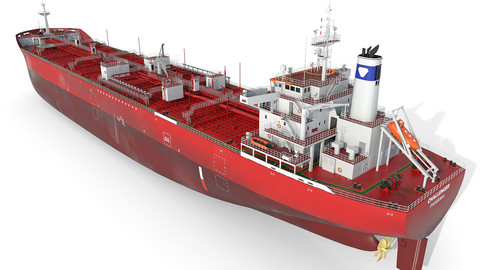 Oil Products Tanker red