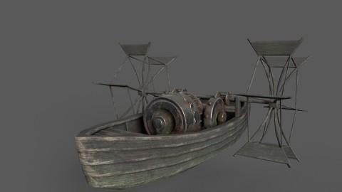 DaVinci's Paddle Boat