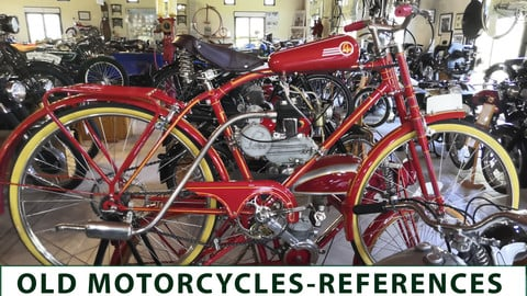 Old Motorcycle - reference images