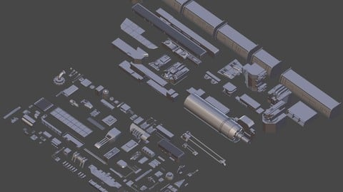 Sci-Fi Greeble Pack