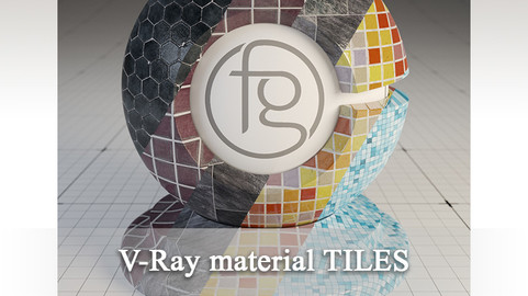 VRay Material Tiles